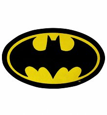 DC Comics Batman Logo Rug