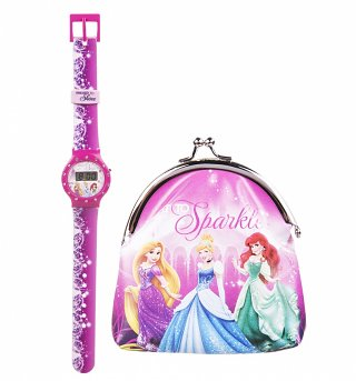 Disney Princess Watch And Purse Set