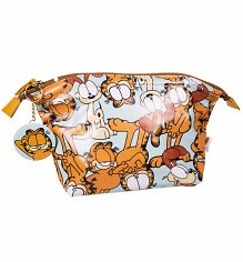 Garfield And Odie Wash Bag With Mirror