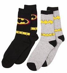 Ladies DC Comics Batman 2pk Socks