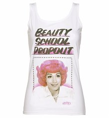 Ladies Frenchie Beauty School Dropout Grease Vest