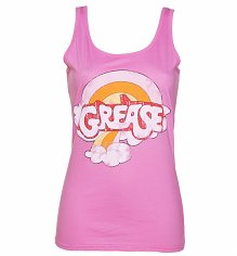 Ladies Grease Rainbow Logo Vest
