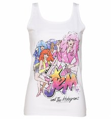 Ladies Jem And The Holograms Band Vest