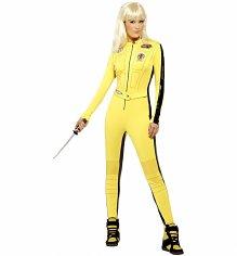 Ladies Kill Bill Fancy Dress Costume