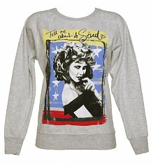 Women's Sandy Tell Me About It Stud Grease Sweater