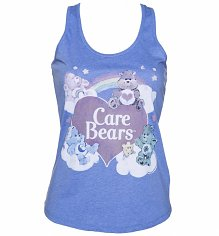 Ladies Vintage Care Bears Racerback Vest