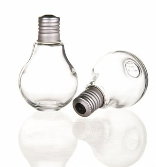 Light Bulb Salt And Pepper Shakers