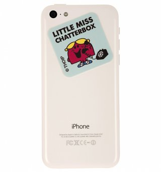 Little Miss Chatterbox Smartphone Screen Cleaner from Stickems