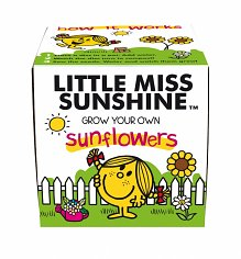 Little Miss Sunshine Sunflowers Grow Kit