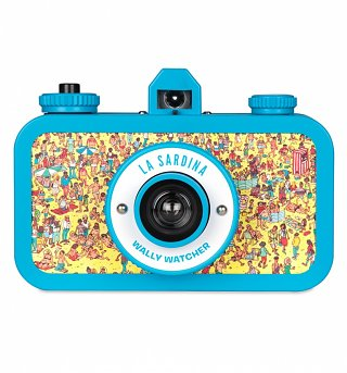 Lomography La Sardina Where's Wally Camera