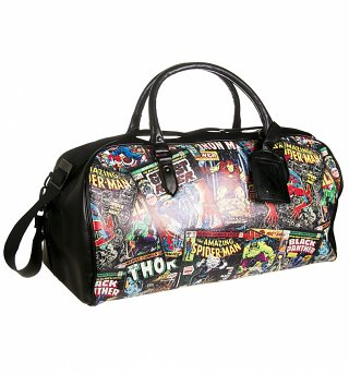 Marvel Comics Covers Weekend Bag