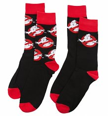 Men's 2pk Ghostbusters Socks