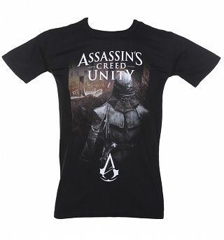 Men's Black Assassins Creed Unity T-Shirt