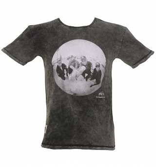Men's Charcoal Normski Middle Finger T-Shirt from Worn By
