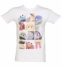 Men's Sesame Street Mash Up T-Shirt