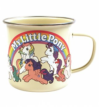 Retro Enamel My Little Pony Tin Mug