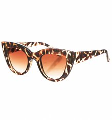 Retro Tortoiseshell Angelina Cats Eye Sunglasses from Jeepers Peepers