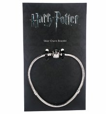 Silver Plated Harry Potter Charm Bracelet For Slider Charms