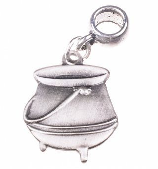 Silver Plated Harry Potter Potion Cauldron Slider Charm