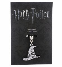 Silver Plated Harry Potter Sorting Hat Slider Charm