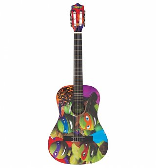 Teenage Mutant Ninja Turtles 3/4 Size Acoustic Guitar Set