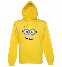 Unisex Yellow Dave Minion Despicable Me Hoodie