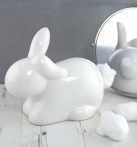 Wonderland Bunny Cotton Tail Cotton Wool Dispenser : Main