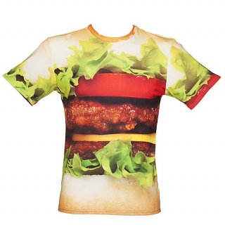 Unisex Tasty Burger All Over Print T-Shirt from Mr Gugu & Miss Go